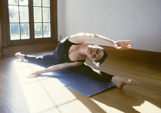 Womanstretching